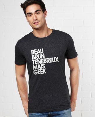 T-Shirt homme Beau brun ténébreux