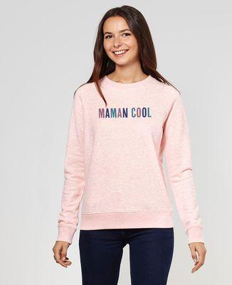 Sweatshirt femme Papa - Maman - Bébé cool