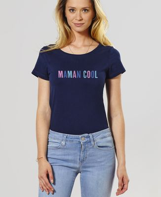T-Shirt femme Papa - Maman - Bébé cool