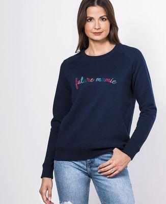 Sweatshirt femme Future mamie