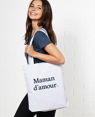 Tote bag Maman d'amour II
