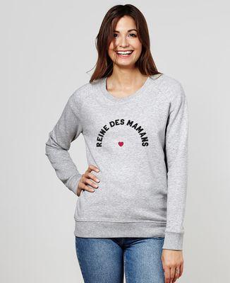 Sweatshirt femme Reine des Mamans