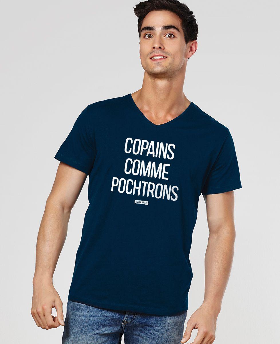 T-Shirt homme Copains comme pochtrons