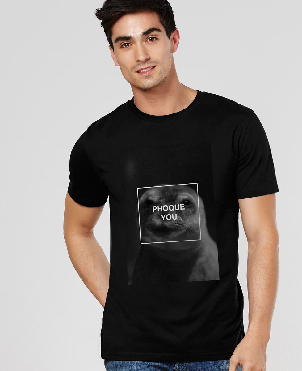 T-Shirt homme Phoque you