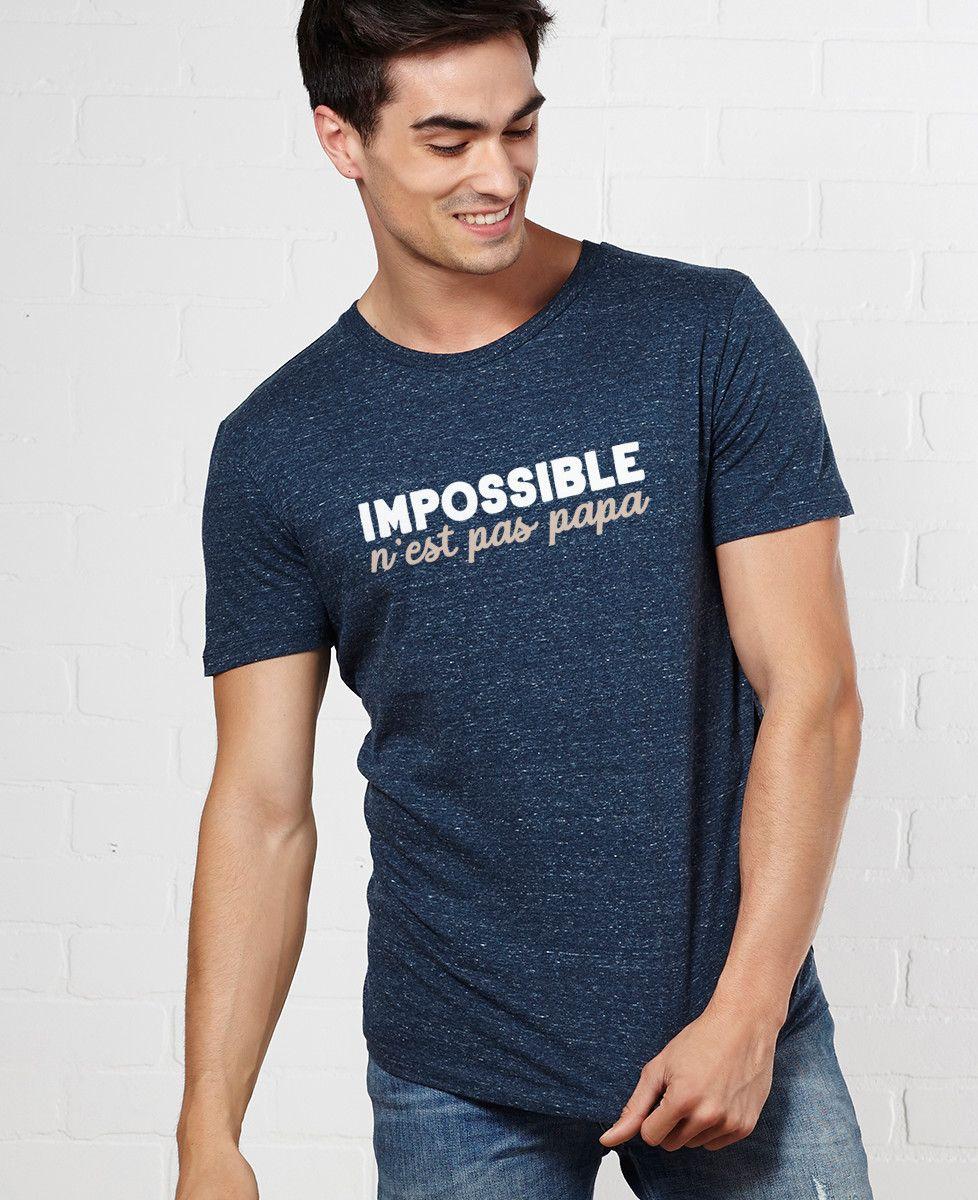 T-Shirt homme Impossible n'est pas Papa