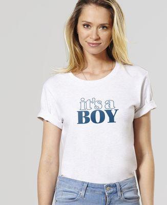 T-Shirt femme It's a boy