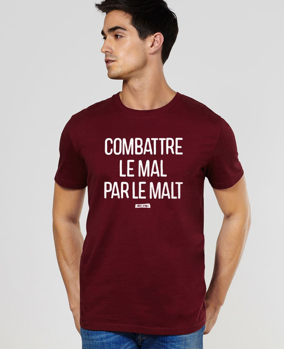 T-Shirt homme Le mal par le malt