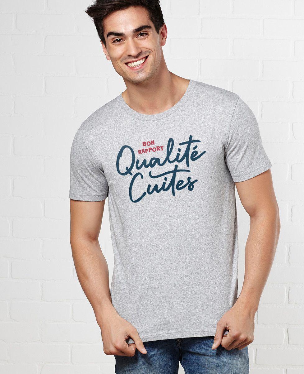 T-Shirt homme Bon rapport Qualité Cuites