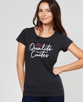 T-Shirt femme Bon rapport Qualité Cuites