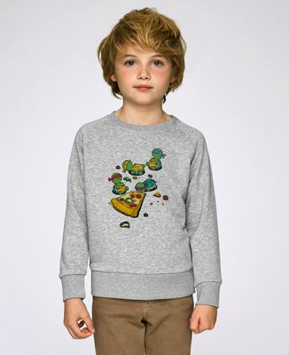 Sweatshirt enfant Pizza lover