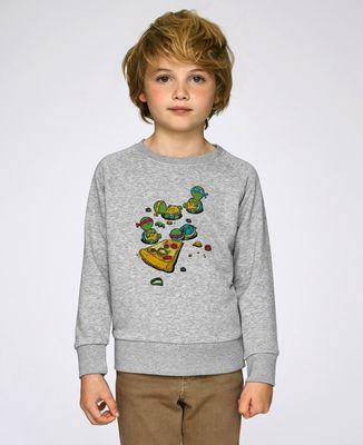 Sweatshirt enfant Pizza lover