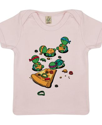 T-Shirt bébé Pizza lover