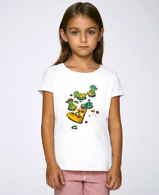 T-Shirt enfant Pizza lover