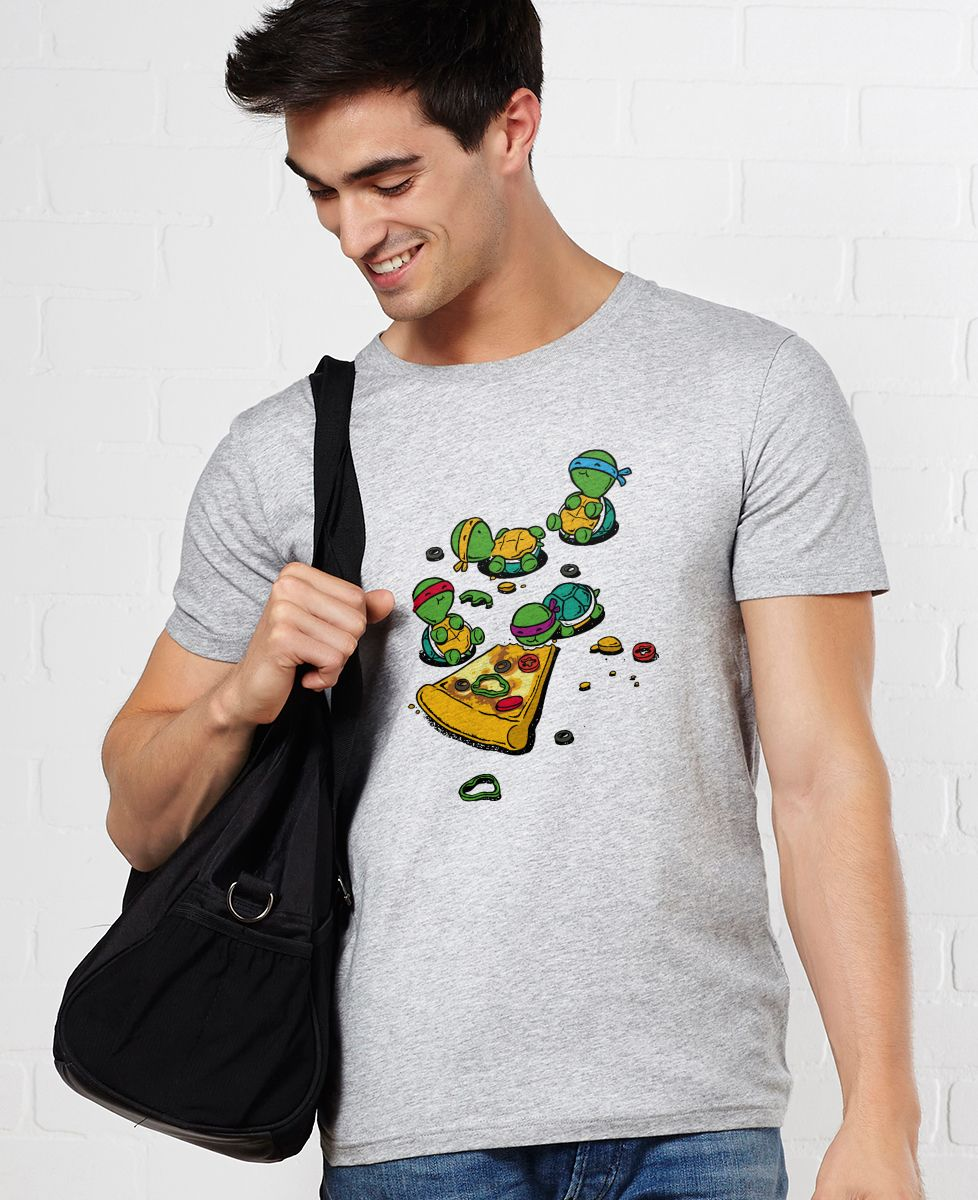 T-Shirt homme Pizza lover