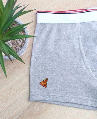Boxer Pizza (brodé)