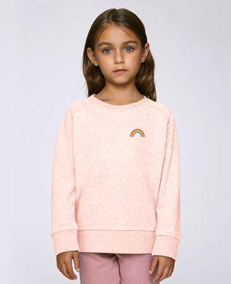 Sweatshirt enfant Arc en ciel (brodé)