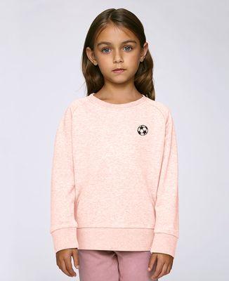 Sweatshirt enfant Ballon de foot (brodé)