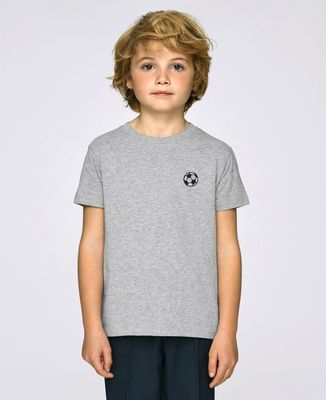 T-Shirt enfant Ballon de foot (brodé)