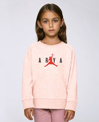 Sweatshirt enfant Arya jump
