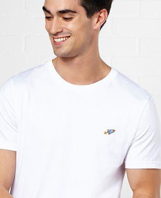 T-Shirt homme Fusée (brodé)