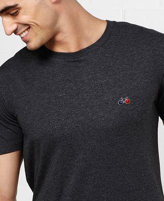 T-Shirt homme Vélo (brodé)