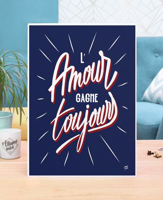 Affiche L'amour gagne toujours