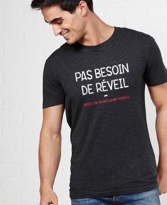 T-Shirt homme Pas besoin de réveil
