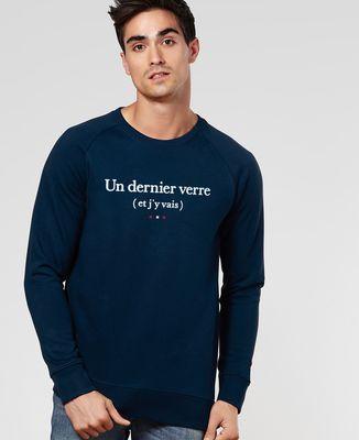 Sweatshirt homme Un dernier verre
