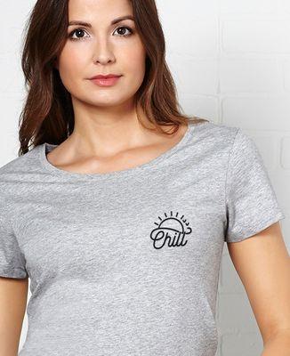 T-Shirt femme Chill (brodé)