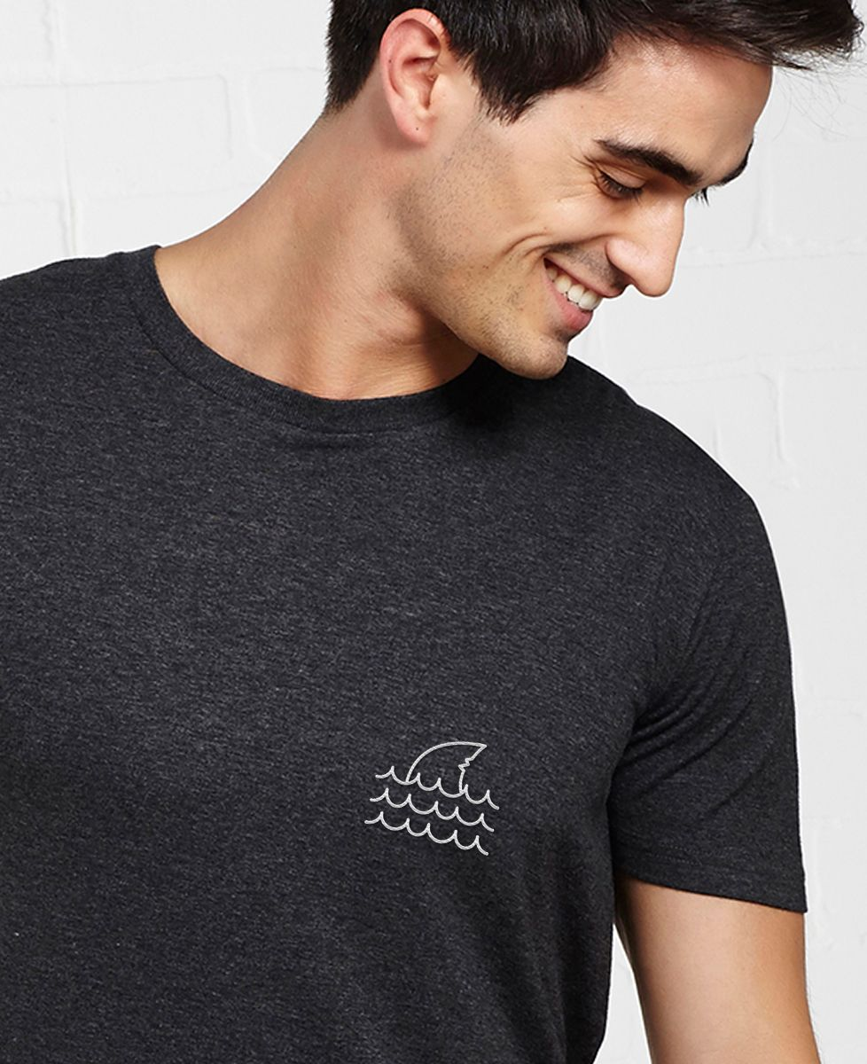 T-Shirt homme Shark (brodé)