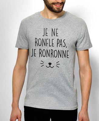 T-Shirt homme Je ne ronfle pas