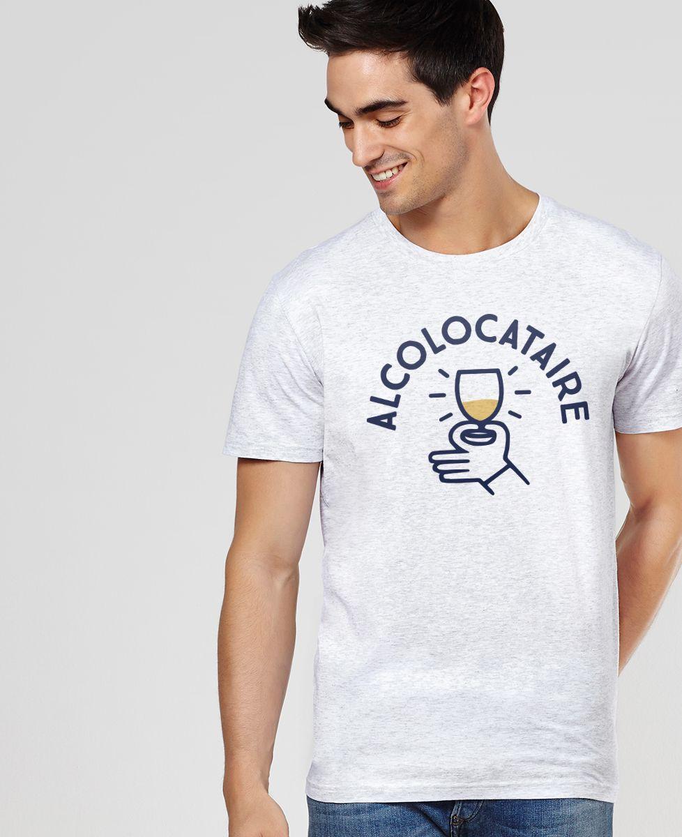 T-Shirt homme Alcolocataire
