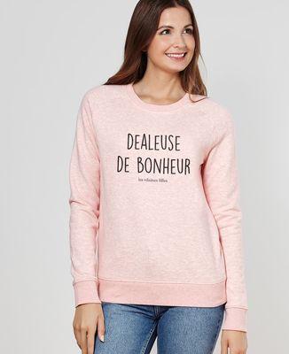 Sweatshirt femme Dealeuse de bonheur