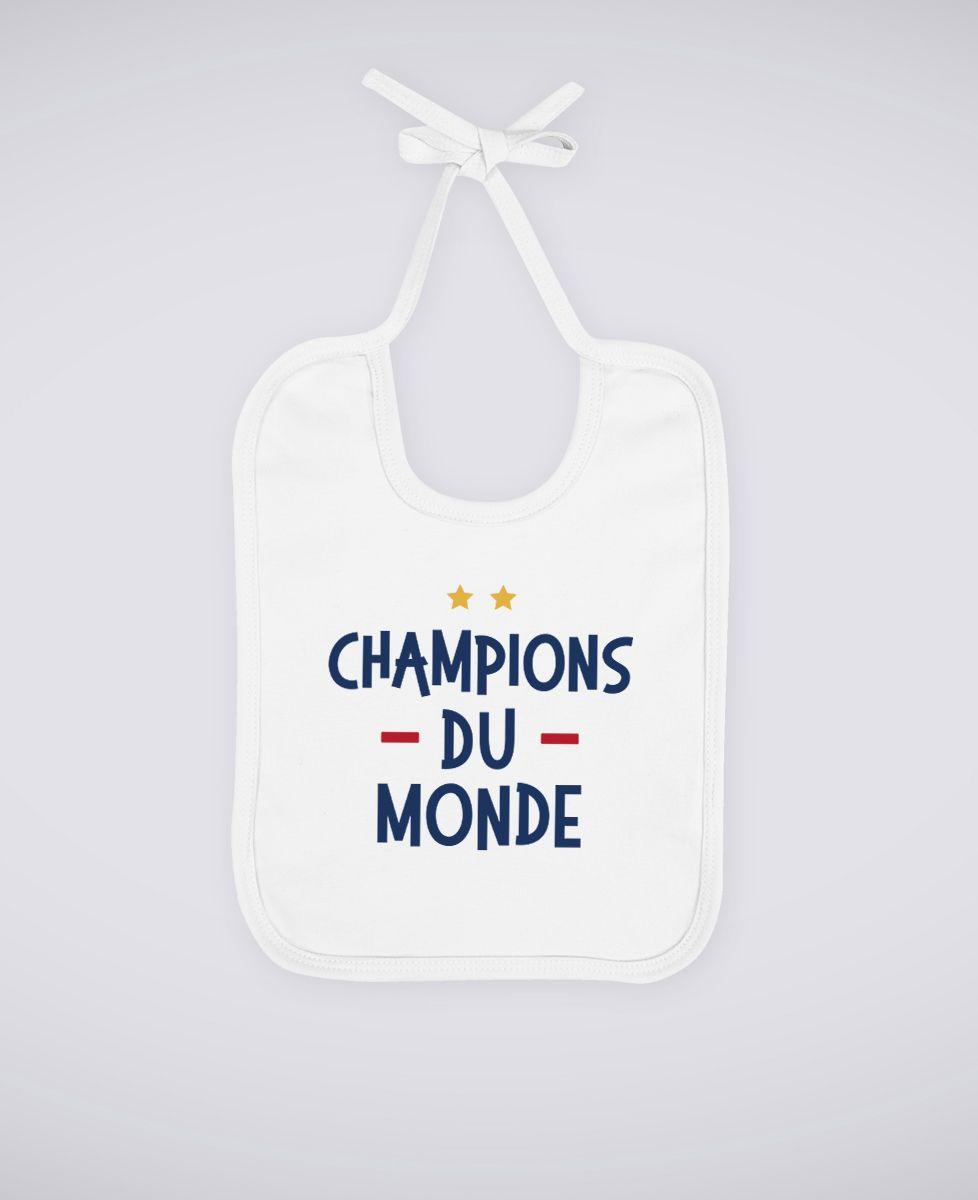 Bavoir Champions du monde