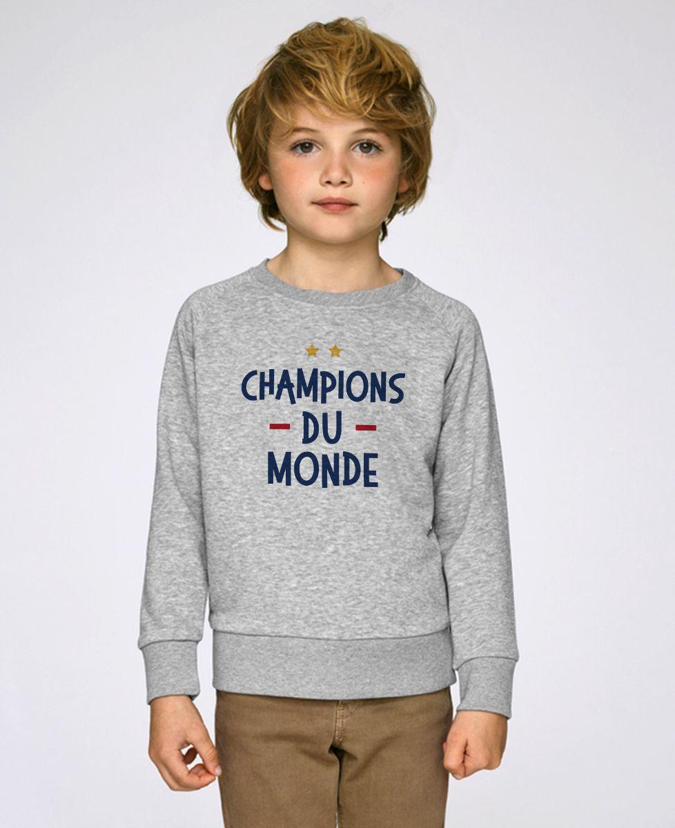 Sweatshirt enfant Champions du monde