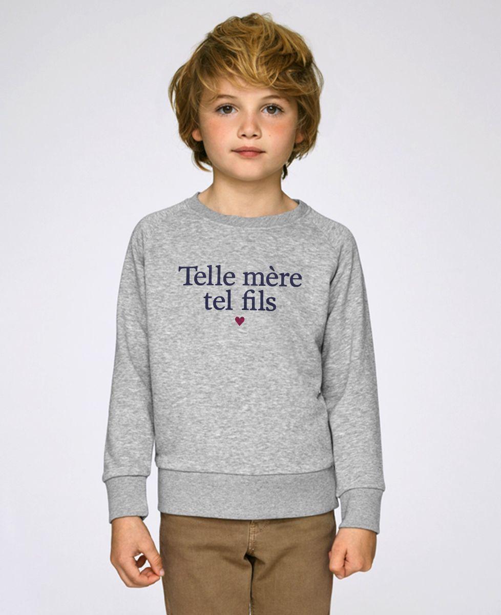 Sweatshirt enfant Telle mère tel fils