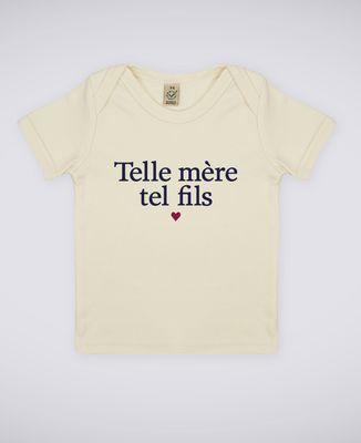 T-Shirt bébé Telle mère tel fils