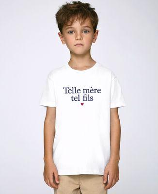 T-Shirt enfant Telle mère tel fils