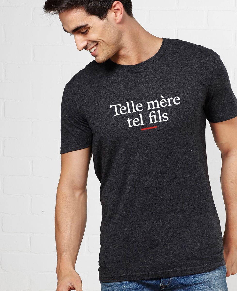 T-Shirt homme Telle mère tel fils
