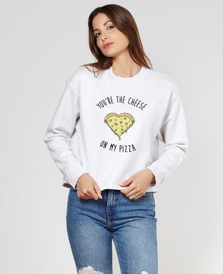 Sweatshirt femme You're the cheese