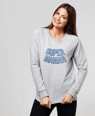 Sweatshirt femme Super maman