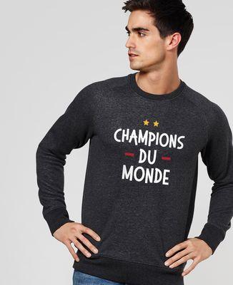 Sweatshirt homme Champions du monde