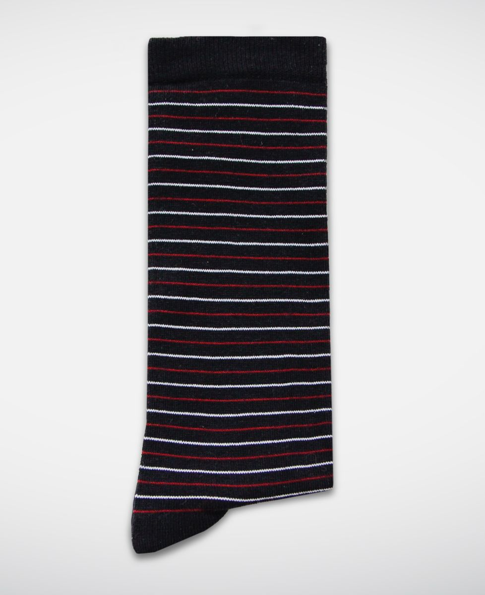 Chaussettes homme Fines rayures