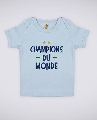 T-Shirt bébé Champions du monde