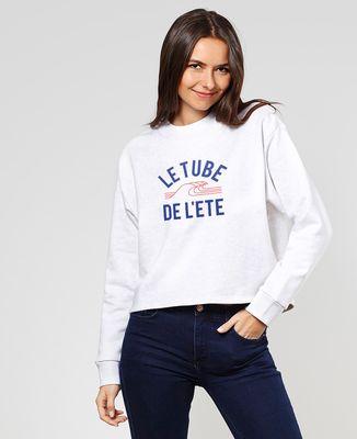 Sweatshirt femme Le tube de l'été