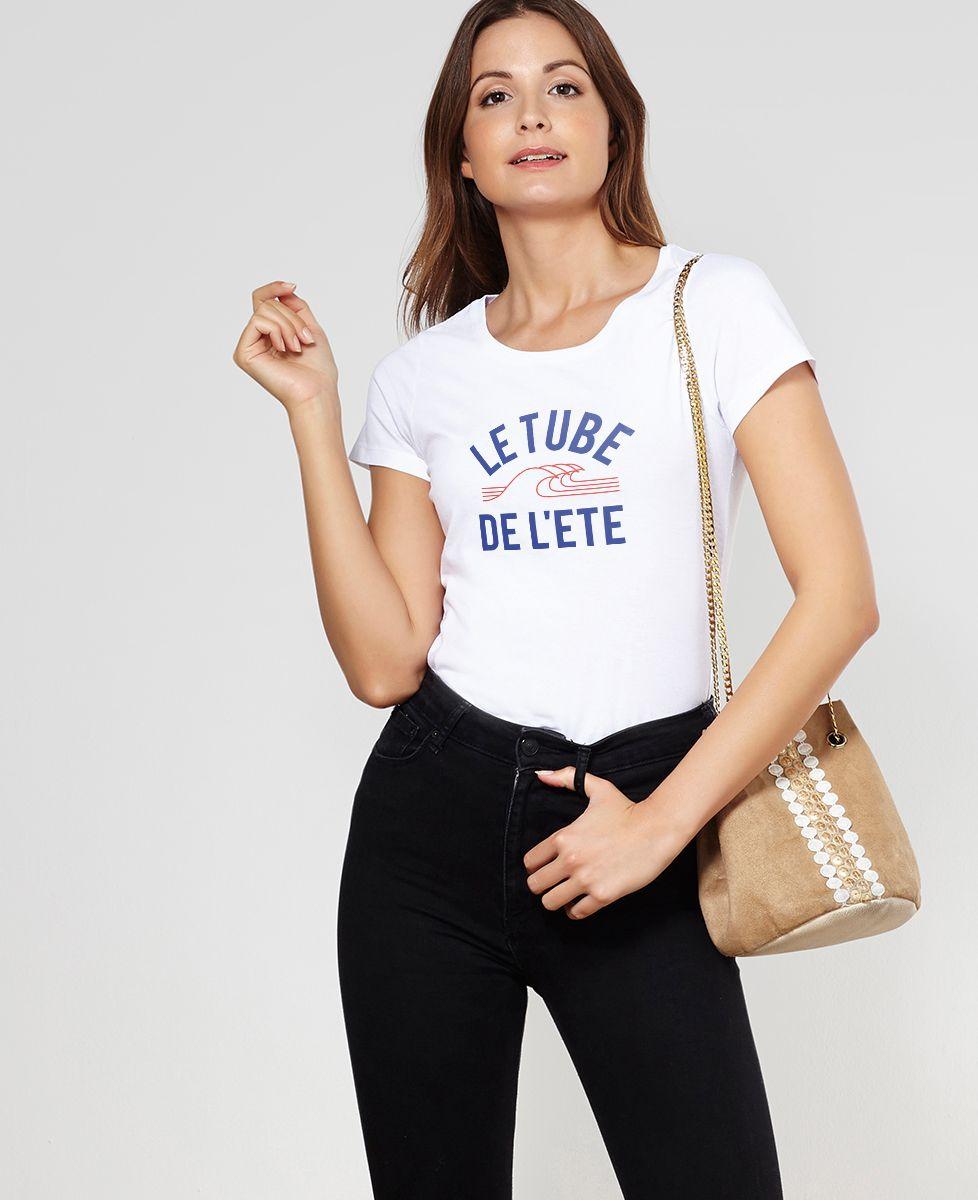 T-Shirt femme Le tube de l'été