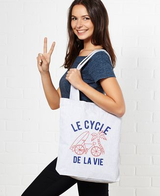 Tote bag Le cycle de la vie