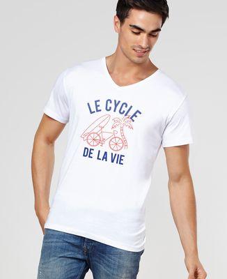 T-Shirt homme Le cycle de la vie