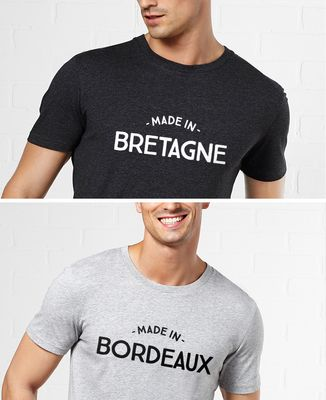 T-Shirt homme Made in personnalisé