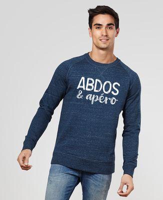 Sweatshirt homme Abdos & apéro